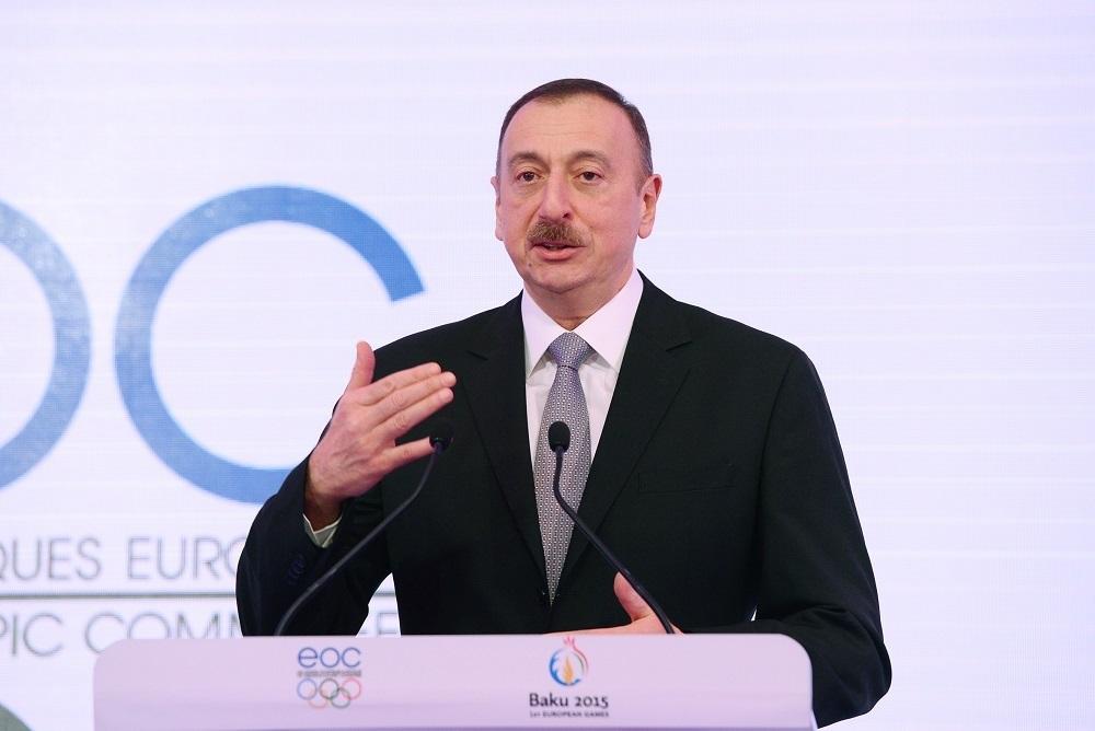 PresidentRepublicAzerbaijanIlhamAliyev